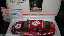 BIANTE 1/18 HOLDEN MONARO CV8 P BROCK  A GIGNEY TARGA TASMANIA 2003 O5  AWESOME