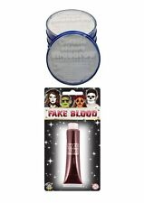 Snazaroo White Face Paint & Fake Blood Pack Fancy Dress Halloween FX Make Up
