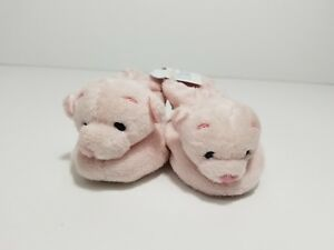 Light Pink Teddy Bear BABY BOOTIES SIZE 0-3 MONTHS