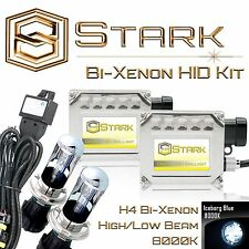 Stark 35W Bi-Xenon HID HiLo Headlight Mini Kit - H4 9003 - 8K Iceberg Blue (A)