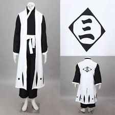 Bleach Ichimaru Gin 4st generation Cosplay Costume Unisex Halloween Any Size