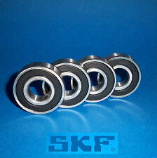 4 Kugellager 6000 2RS / Markenware SKF / 10 x 26 x 8 mm