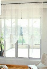 Curtain Tulle For Window Treatment Sheer Organza Embroidery White Bird Pattern