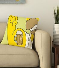 Beer Home Decorative Throw Pillow Cover Bed Sofa Square Cushion Couch