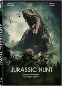 Jurassic Hunt (DVD) Courtney Higgins BRAND NEW