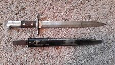Swiss Schmidt Rubin K31 - Bayonet and Scabbard - Elsener Schwyz Arsenal Marked