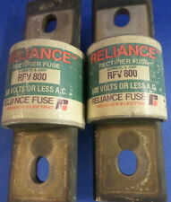 RELIANCE RFV 800, 500V 800A FUSE, LOTS OF 2