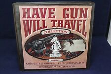 Have Gun Will Travel 10 Cassettes 20 Episodes Complete Volume 1 Original