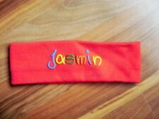 @Unikat@ Headband Red With Signature Jasmin 18 1/8-19 11/16in New Christmas