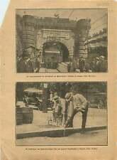 Tunnel ferroviaire du Fréjus/Mont-Cenis Modane Bardonecchia 1921 ILLUSTRATION