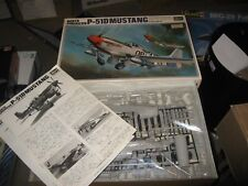 Hasegawa 1/32 North American P-51D Mustang Model Kit #S12 USAF WWII (1980)