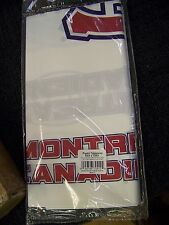 "Montreal Canadiens  Plastic Table Cover 54"" X 108"" 11 PCs TBE8201"