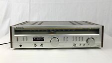 Vintage Kenwood KR-725 AM FM Stereo Receiver High Speed Wood Grain Working