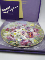 1975 Royal Doulton Hahn Vidal Ltd Ed Spring Harmony Plate 10 3/8in w box