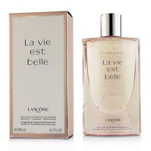 Lancome La Vie Est Belle Invigorating Fragrance Shower Gel 200ml Women's Perfume