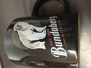 bundaberg bundy bear black mug