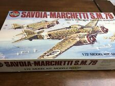airfix 1/72 04007-3 savoia-marchetti s.m.79 vintage model aircraft kit
