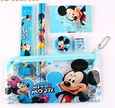 Minnie Mouse Mickey Mouse Pencil Case With Accessories US Seller New