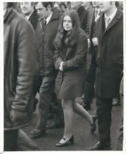 Bernadette Devlin, Paddy Kennedy Ulster Republican leader Civil Rights March '72