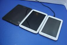 Samsung Galaxy Tab Tablet Lot of 3 SM-T113 T350 T820 for Parts/Repair AS-IS
