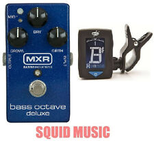 MXR Dunlop M288 Bass Octave Deluxe Effects Pedal Blue Sparkle M-288 (FREE TUNER)