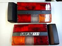 FIAT 131 SUPER MIRAFIORI S2 REAR LIGHTS TAILLIGHTS PAIR ASSEMBLY COMPLETE