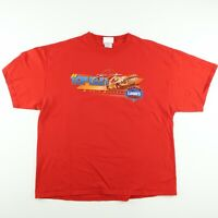 NASCAR Jimmie Johnson Lowes #48 Mens Sz XL Red T-Shirt Chase 100% Cotton