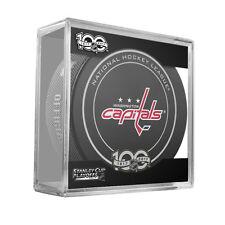 2017 NHL Washington Capitals Stanley Cup Playoffs Hockey Puck in Case