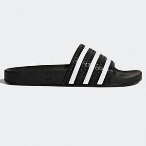 Adidas Adilette Badelatschen schwarz/weiß 280647