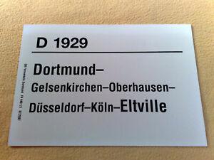 ZLS D 1929 Dortmund - Gelsenkirchen - Köln - Eltville 07/2007 F4 440 1/1