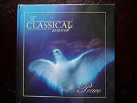 Peace - Lovely Classical Beautiful GIFT Rare Mint In Classical Mood Book and CD