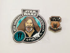 JEDI KNIGHTS Patch and Pin Set Star Wars Smuggler's Bounty EXCLUSIVE