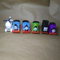 THOMAS and friends Push and Play Trains Lot of 6 trains, Harold,Diesel,Percy,Cha