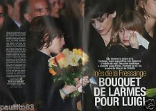 Coupure de presse Clipping 2006 Inès de la Fressange mort de Luigi d'Urso (8pgs)