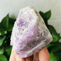 308g Natural Rough Mineral Specimens Kunzite Quartz Crystal Raw Stone Healing