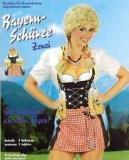 Bayernschürze Zenzi + Dirndl Kostüm Fasching Karneval Oktoberfest Bayern Schürze