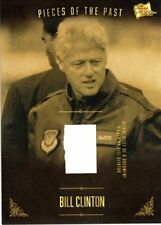 PIECES OF THE PAST VOLUME TWO BILL CLINTON SIGNED DOCUMENT PIECE CARD