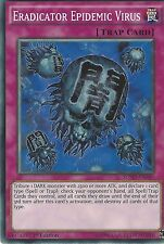 YU-GI-OH CARD: ERADICATOR EPIDEMIC VIRUS - SDMP-EN040 - 1st EDITION