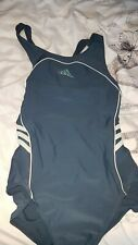Ladies Adidas - Grey Swim Costume Size 12/14