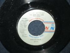 """King Solomon """"The Best You Can/She Loves to Hear the Music"""" 45 {ROMO"""