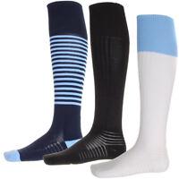 Mens Umbro Knee Length Football Sports Plain/Stripe Unisex Pro Socks