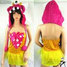 Halloween Furry Sexy Girl Women Monster Stage Carnival Party Cosplay Costume