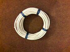 18 metres. 4 Core Round White Flex 1.5 mm .