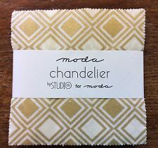 "Chandelier by Studio M for Moda  - fabric Charm Pack - 5"" squares"