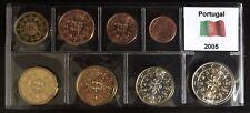 EURO PORTUGAL 2005 SET 8 MONETE PORTOGALLO