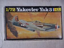Maquette HELLER 1/72ème YAKOVLEV Yak 3