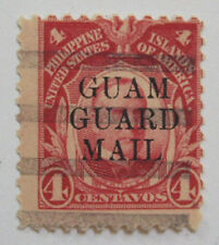 1930 Guam Guard Mail M6 Harder to find used example