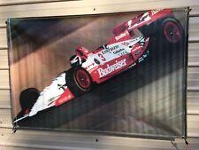 Budweiser #3 Race Car Indy Banner