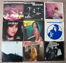 Lot Of 72 - Rock, Pop & R&B 45'S + Picture Sleeves - Cleaned And Tested