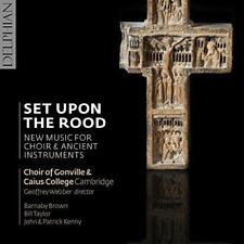 Set Upon The Rood; New Music For Choir & Ancient Instruments - Choir Of (NEW CD)